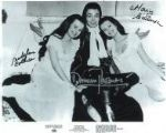 Damien Thomas & Mary & Madeline Collinson 'HORROR' - Genuine Signed Autograph 10x8 11167